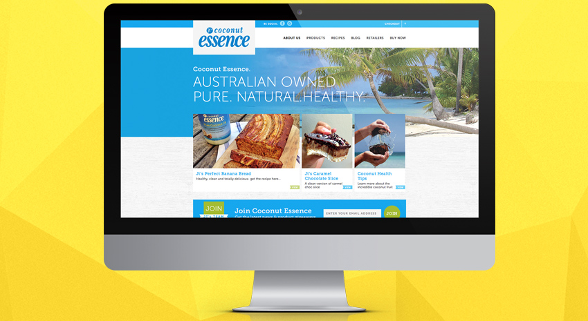Coconut Essence Shopify Development Brisbane - OnePoint Software Solutions