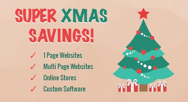Super Xmas Savings - Brisbane Web Design & Custom Software - OnePoint Software Solutions