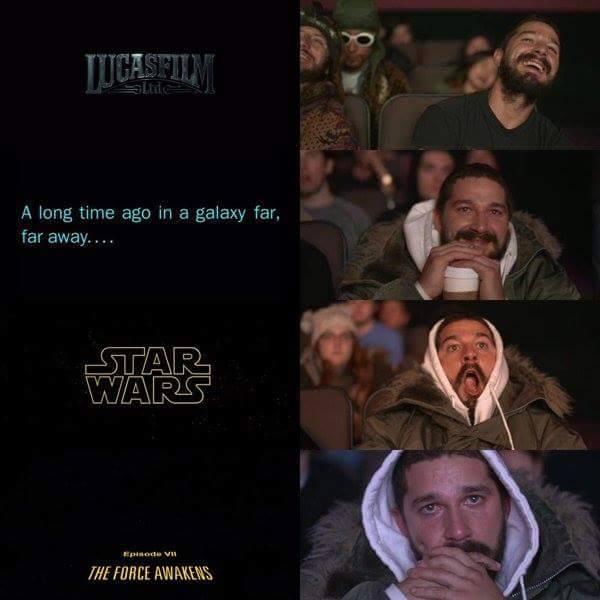 Star Wars Reaction