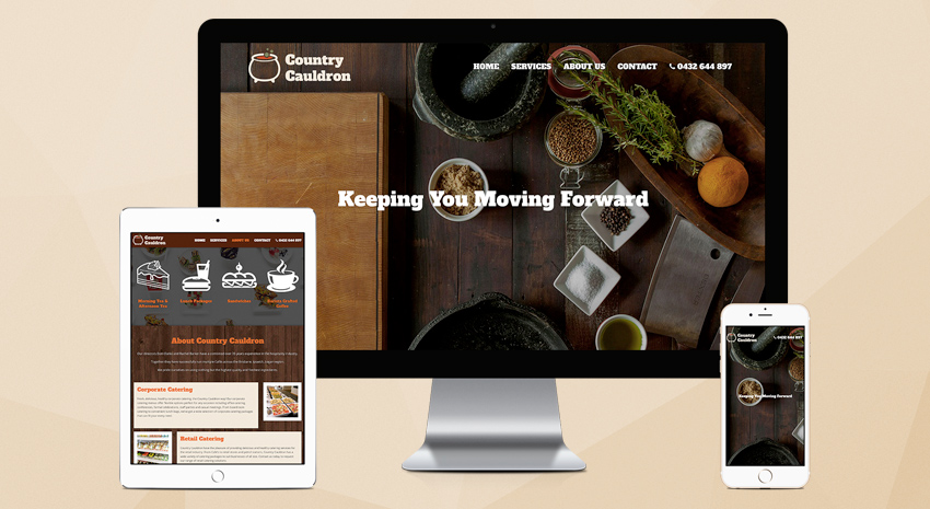 country-cauldron-website-design-brisbane-onepoint-software-solutions