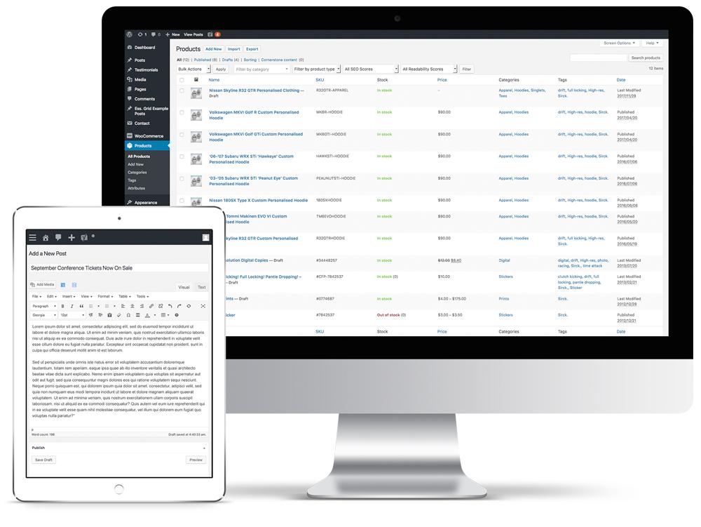 wordpress-admin-wordpress-developers-brisbane-australia-onepoint-software-solutions
