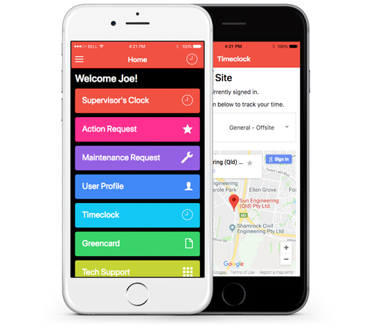 mobile-app-development-brisbane-onepoint-software-solutions-sun-engineering-pro-book