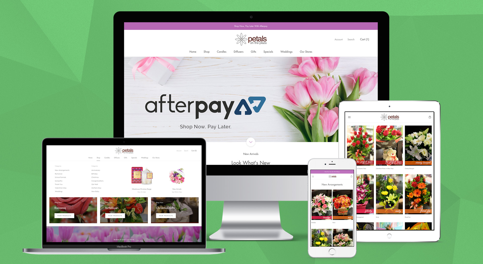 petals-on-the-plaza-website-design-brisbane-onepoint-software-solutions-shopify