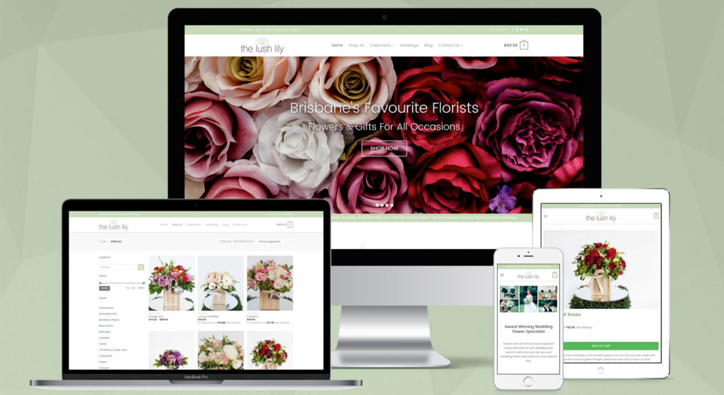 the-lush-lily-website-design-brisbane-australia-onepoint-software-solutions