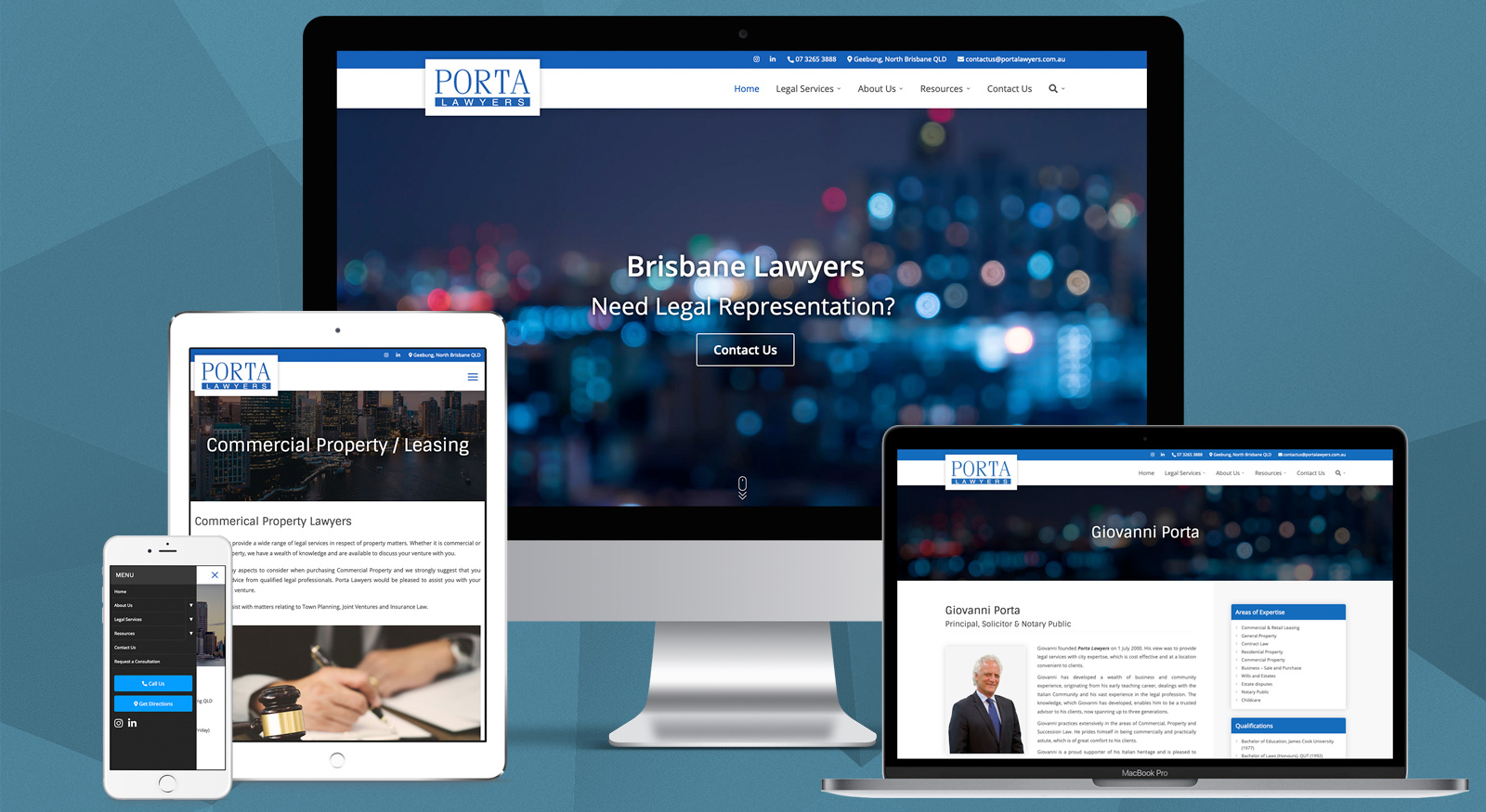 Website Launch - Porta Lawyers - OnePoint Software Solutions