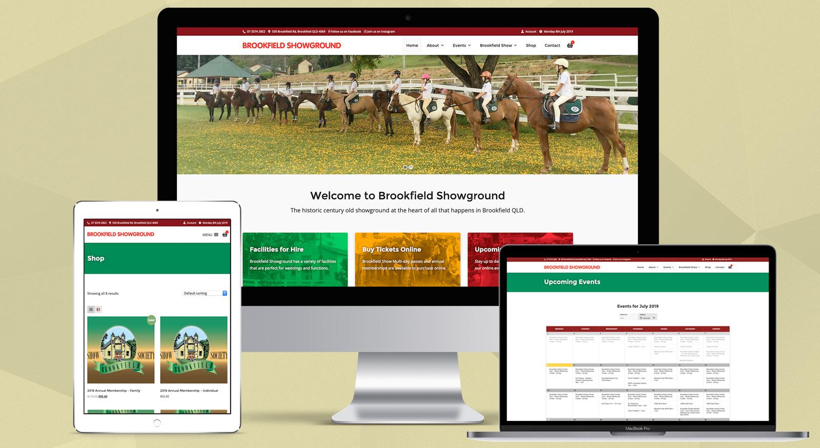brookfield-showground-web-design-brisbane-qld-australia-onepoint-software-solutions