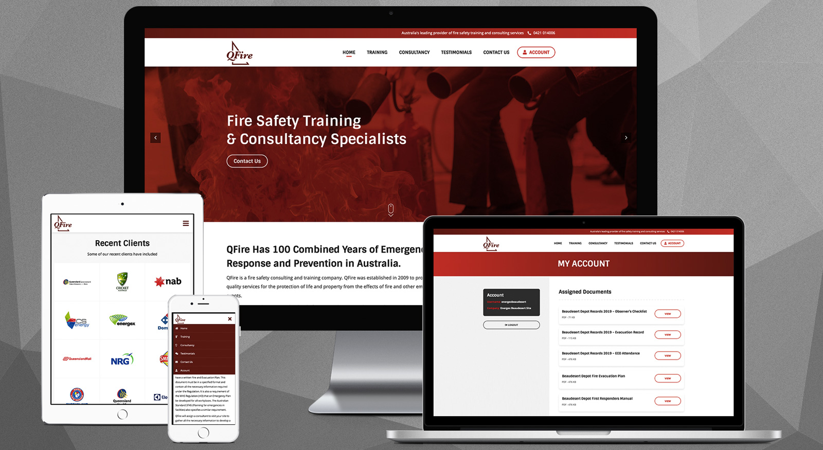 qfire-website-design-onepoint-software-solutions