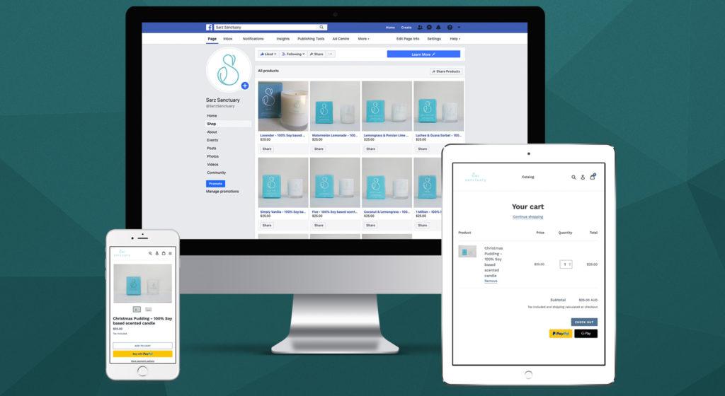 sarz-sanctuary-web-development-brisbane-shopify-onepoint-software-solutions