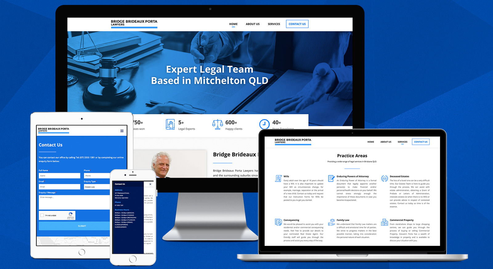 brisbane-lawyers-bridge-brideaux-porta-law-firm-mitchelton-qld-web-design-onepoint-software-solutions