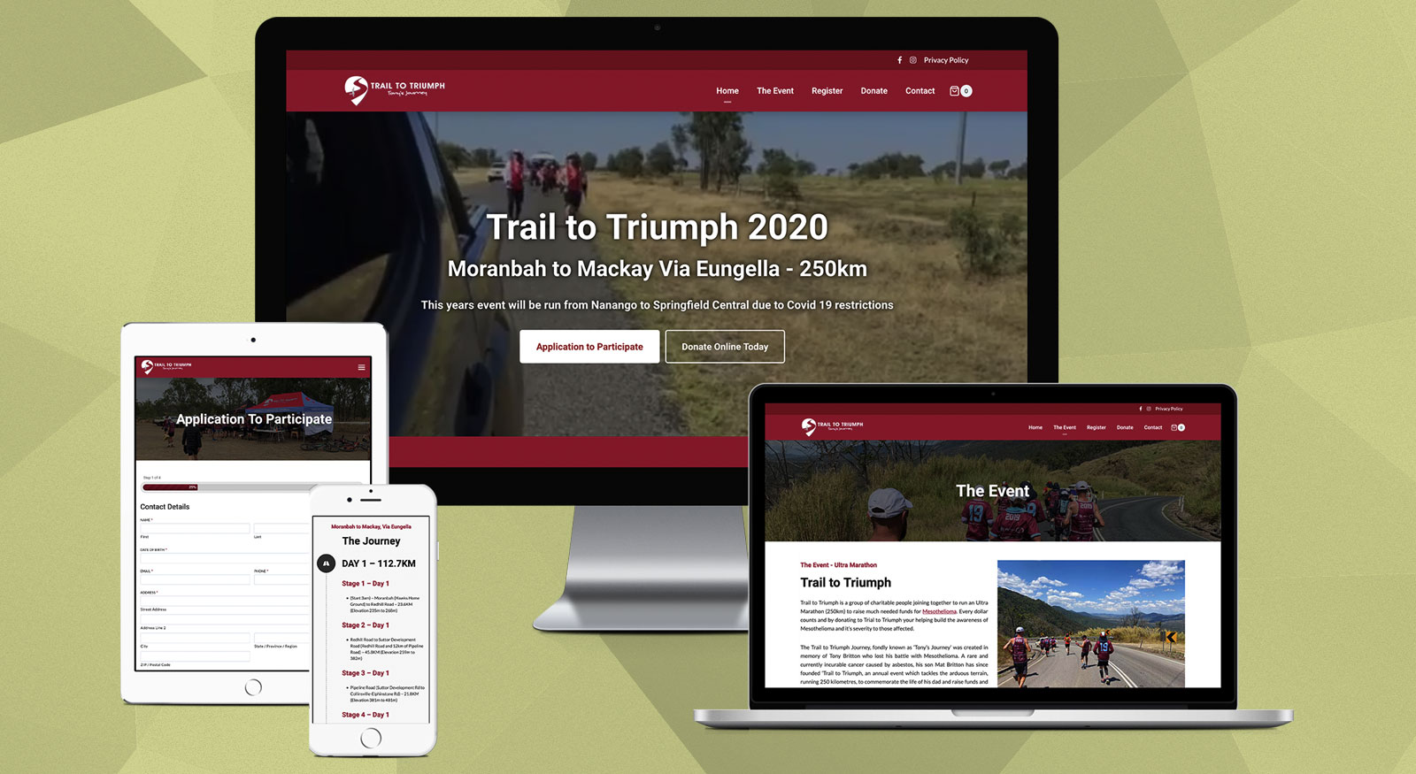 trail-to-triumph-website-design-brisbane-onepoint-software-solutions