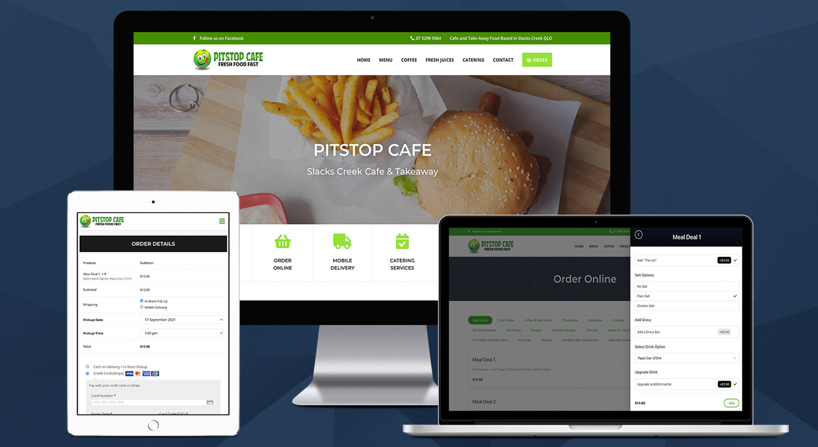 Website Launch - Pitstop Cafe